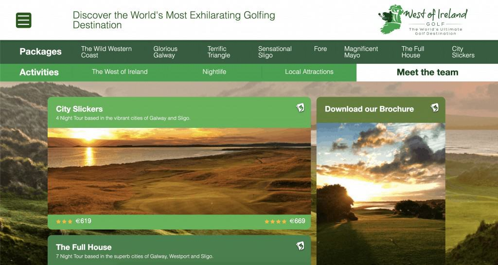 west of Ireland golf